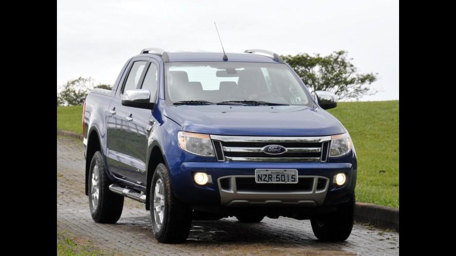 Nova Ford Ranger passa por recall para reparar falha na trava do encosto traseiro