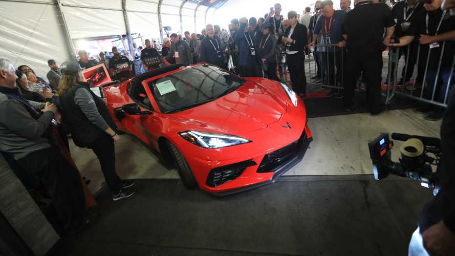 La prima Chevrolet Corvette C8 all'asta