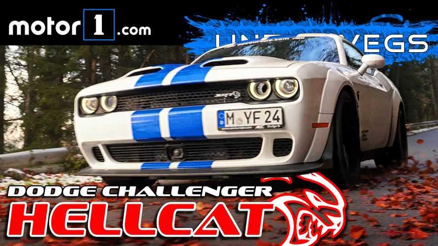 Video: Dodge Challenger SRT Hellcat im Test - Unfahrbar?