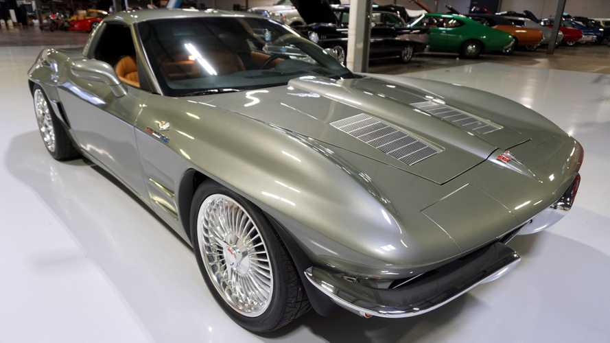Retro-Styled C6 'Vette Packs A Supercharged LS3
