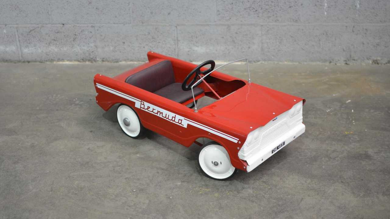 Over 140 pedal cars to be sold at no reserve by Brightwells today!