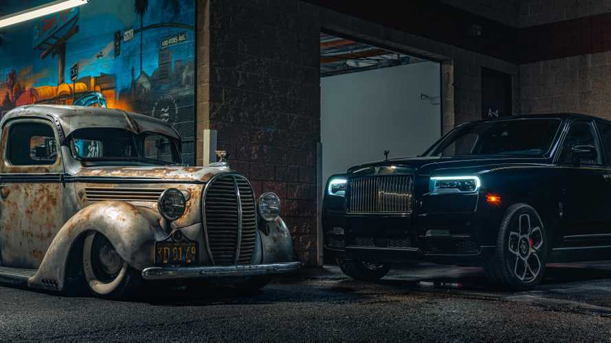 Rolls-Royce Cullinan mingles with hot-rod culture in America