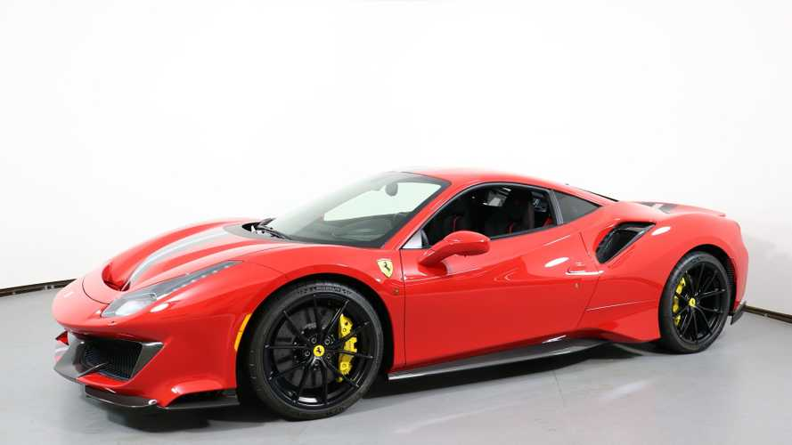 Eat Up The Track With This 2019 Ferrari 488 Pista