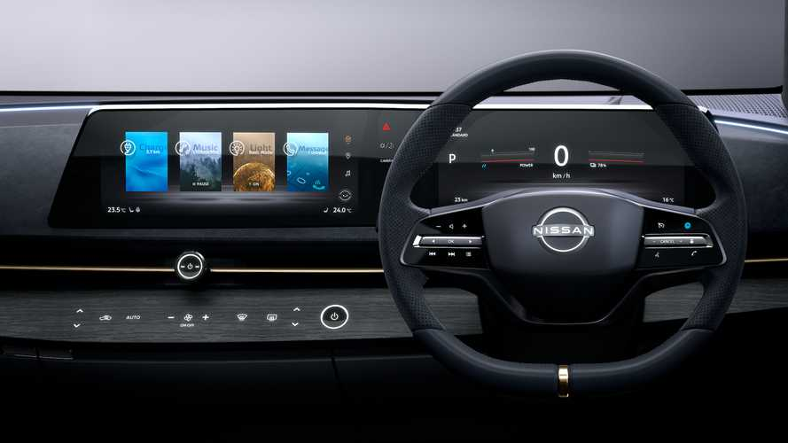 Nissan Explains Why The Ariya Concept Doesn't Have A Tablet