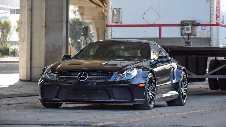Százmillió forint feletti áron kelhet el egy tízéves AMG SL 65 Black Series