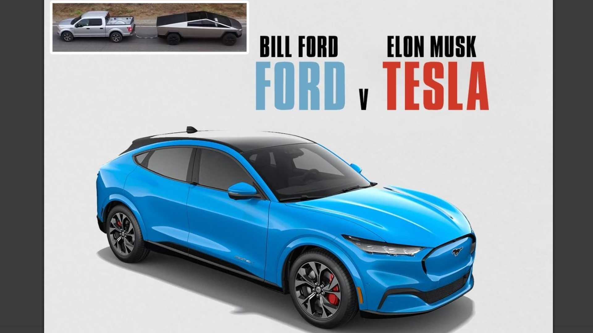 Ford Vs Tesla: The Movie We're All Eager To See