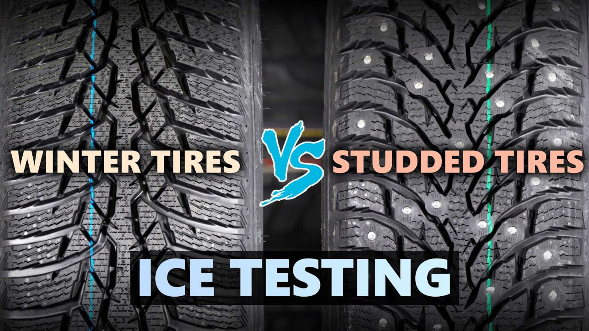 Here's the difference between friction and studded winter tyres