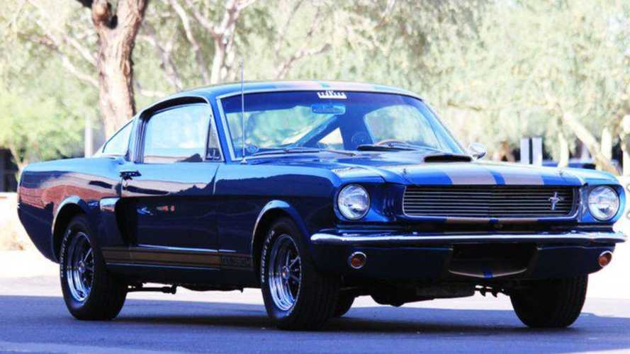 Demand Attention In This Rare Sapphire 1966 Shelby GT350-H