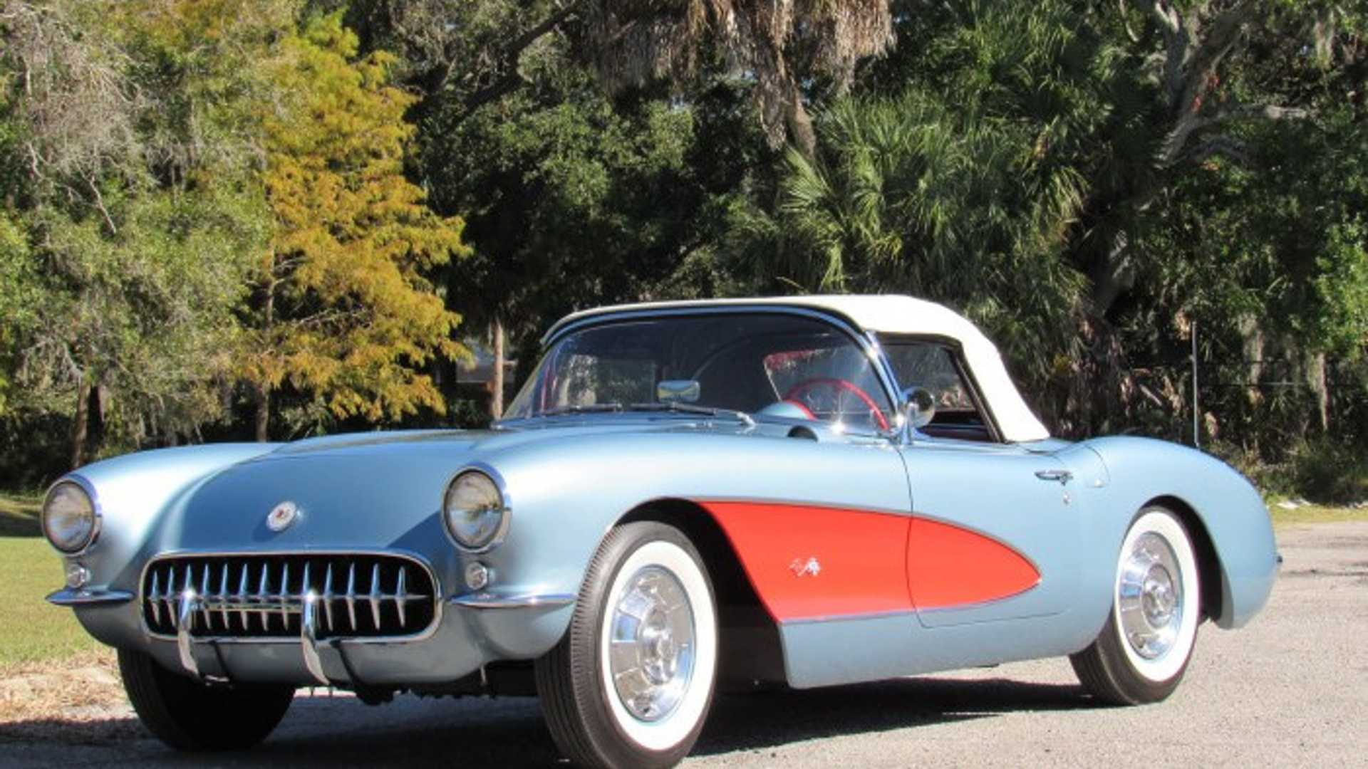 """[""""Saddle Up With This 1957 Chevy Corvette""""]"""