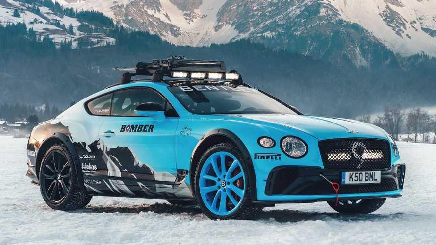 Modifikasi Bentley Continental GT untuk Balap di Trek Bersalju