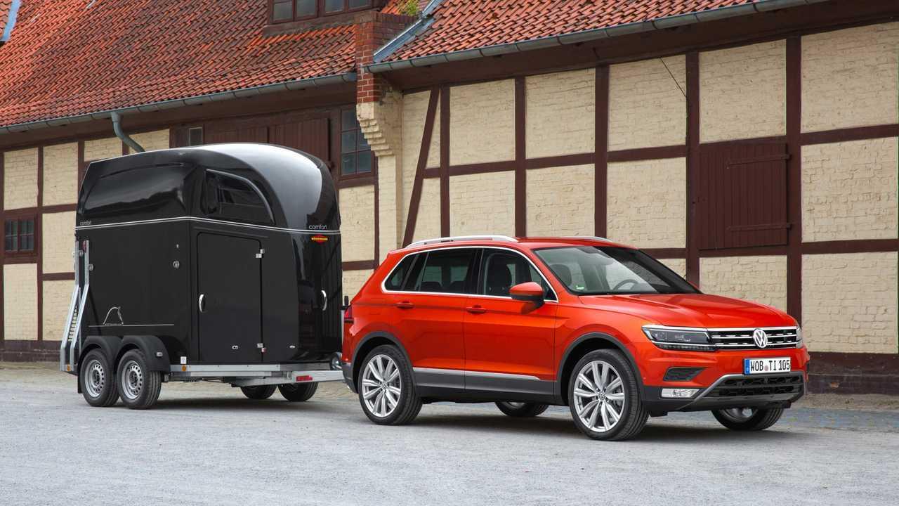 VW Tiguan: Bis 2.500 Kilo