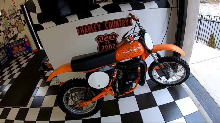 That Time Harley-Davidson Made Dirt Bikes