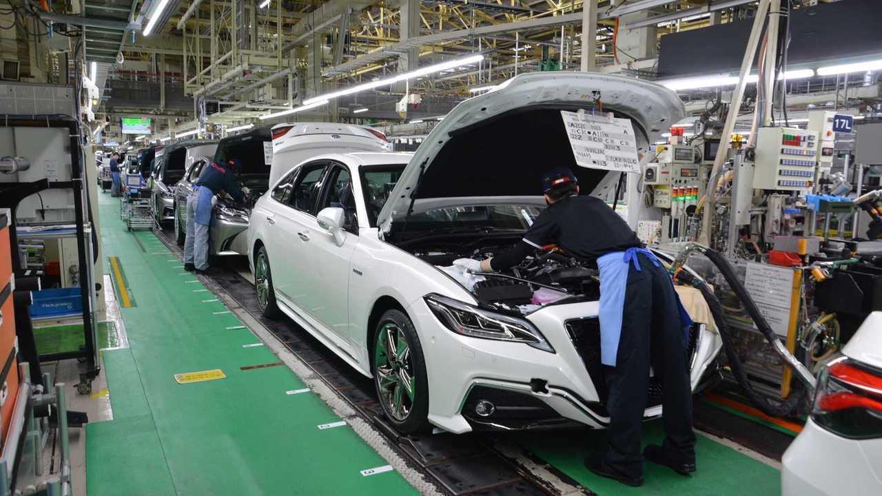 завод Toyota в Японии