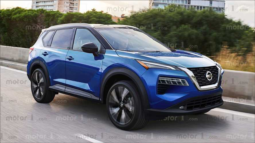 New Nissan Qashqai rendering
