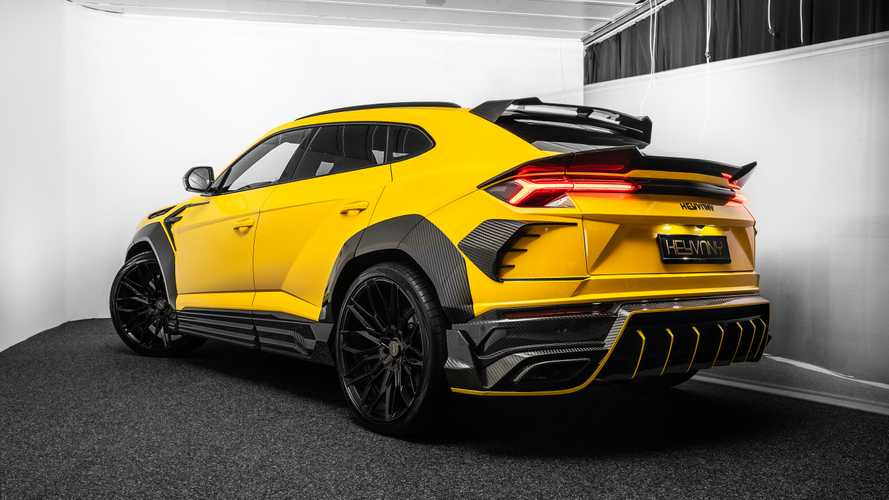 Lamborghini Urus (preparación de Keyvany)