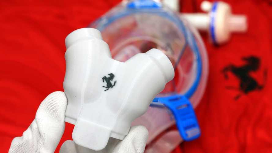 Lélegeztetőgép-alkatrészek gyártásába kezdett a Ferrari