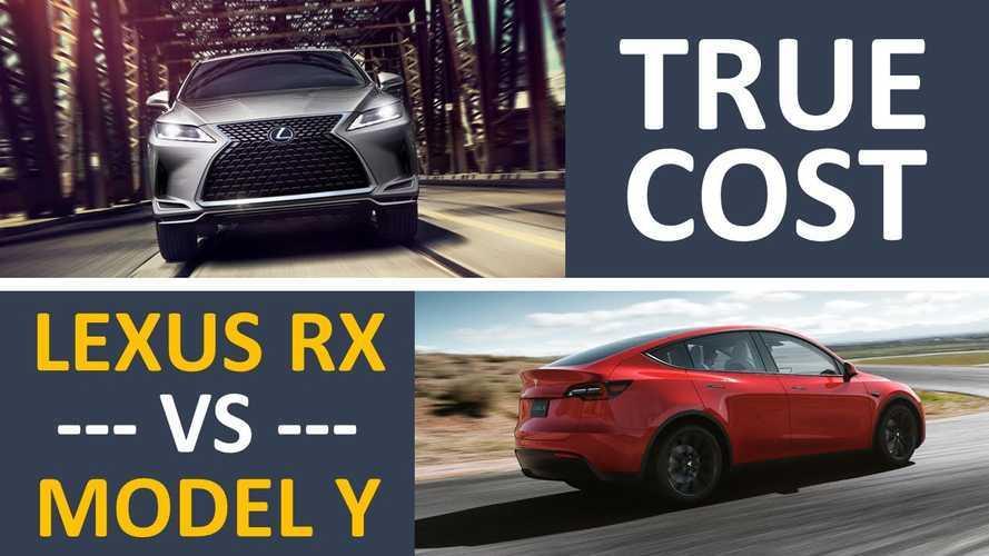 Tesla Model Y Vs Lexus RX Hybrid: 5-Year Cost Of Ownership Analysis