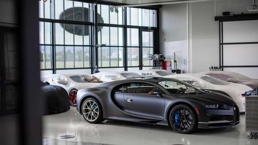 Yeni Bugatti Chiron modelleri geliyor!