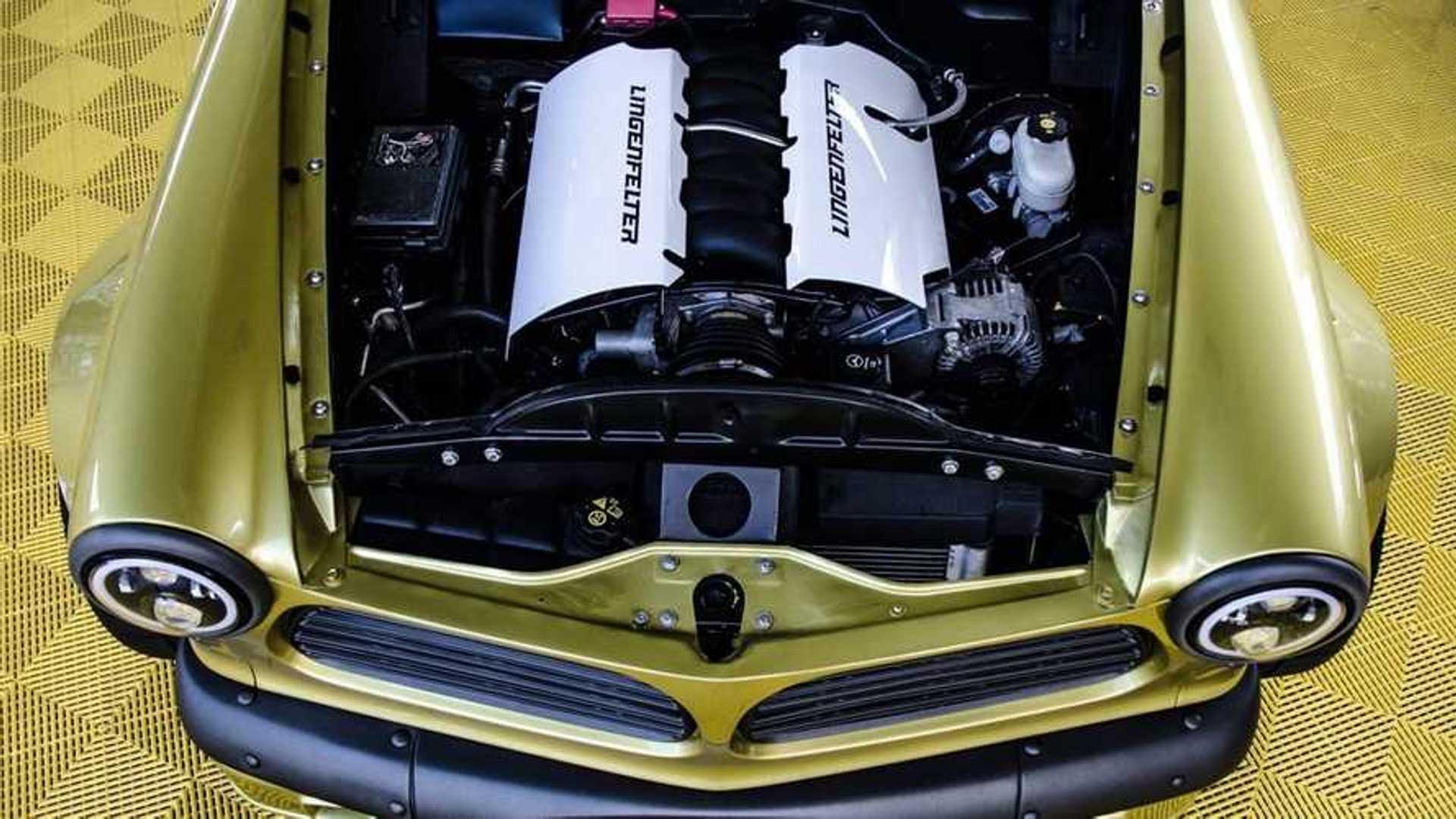 "[""Bid On This LS7-Powered 1963 Volvo Amazon Custom Coupe Wide-Body""]"