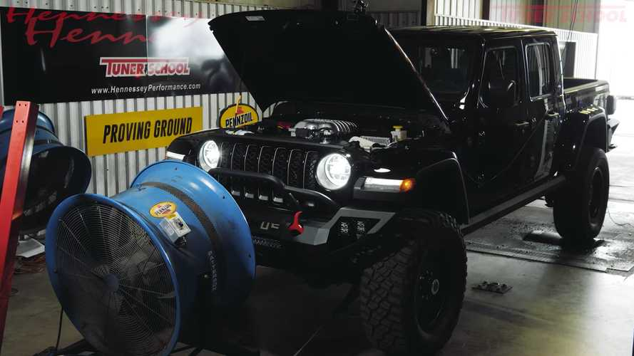 Hennessey Maximus Jeep Gladiator Shrieks Like A Banshee In Dyno Test