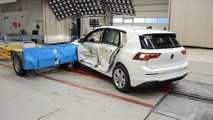 VW Golf 2020 crash test pelo Euro NCAP
