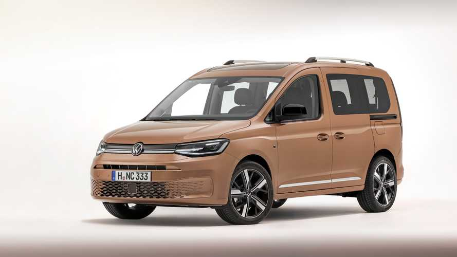 2020 VW Caddy debuts as high-tech, small van that's ready to work