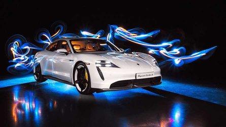 Porsche logs 30,000 Taycan electric vehicle orders
