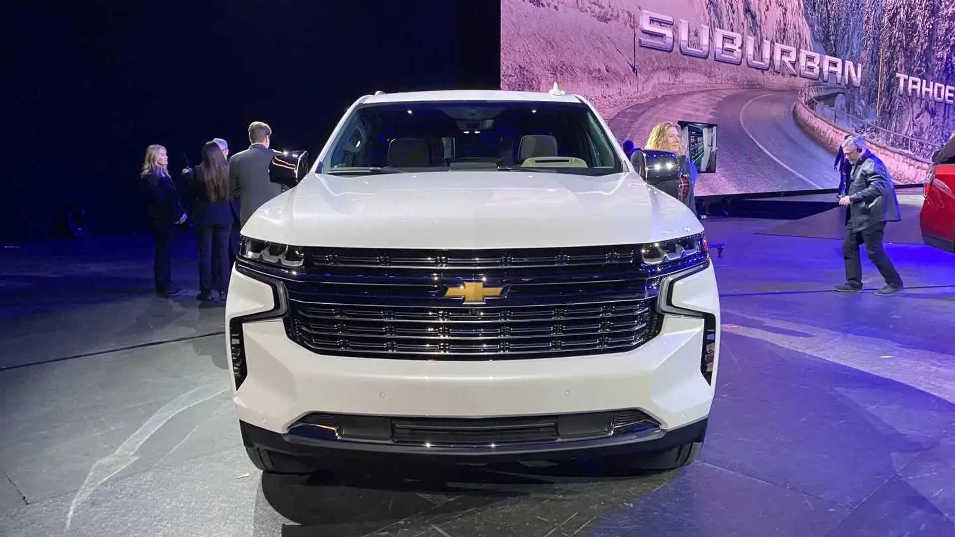 Chevrolet Suburban Und Tahoe 2021 Neue Mega Suvs Vorgestellt