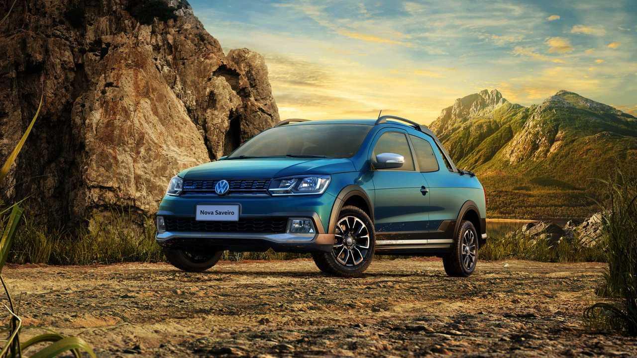 Volkswagen Polo pick-up de Brasil (VW Saveiro)