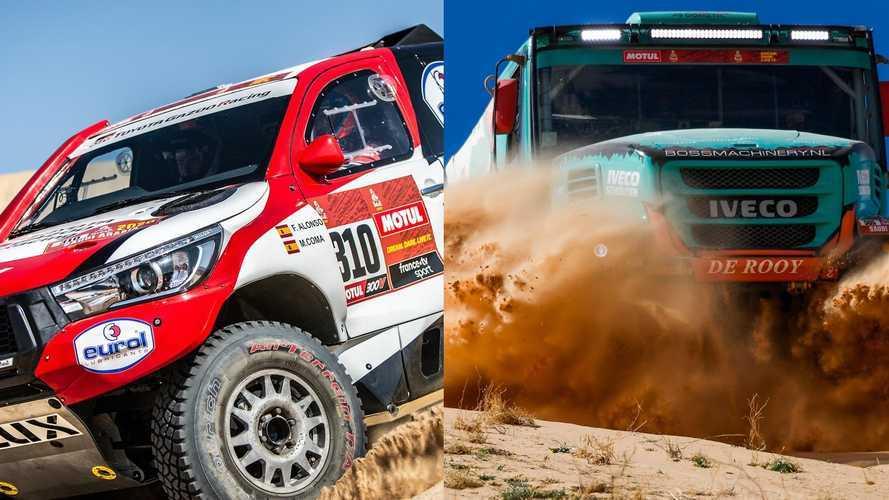 Dakar 2020, Alonso è sempre più veloce, Iveco a caccia del podio