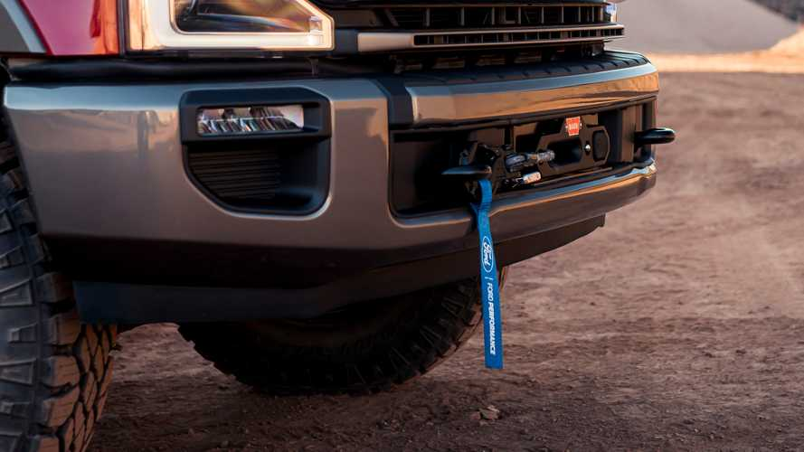 Ford Super Duty Tremor Winch