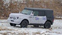 2020 Ford Bronco Orijinal Gövdesiyle Casus Fotoğrafları