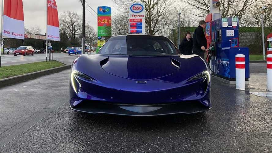 McLaren Speedtail in Belgium