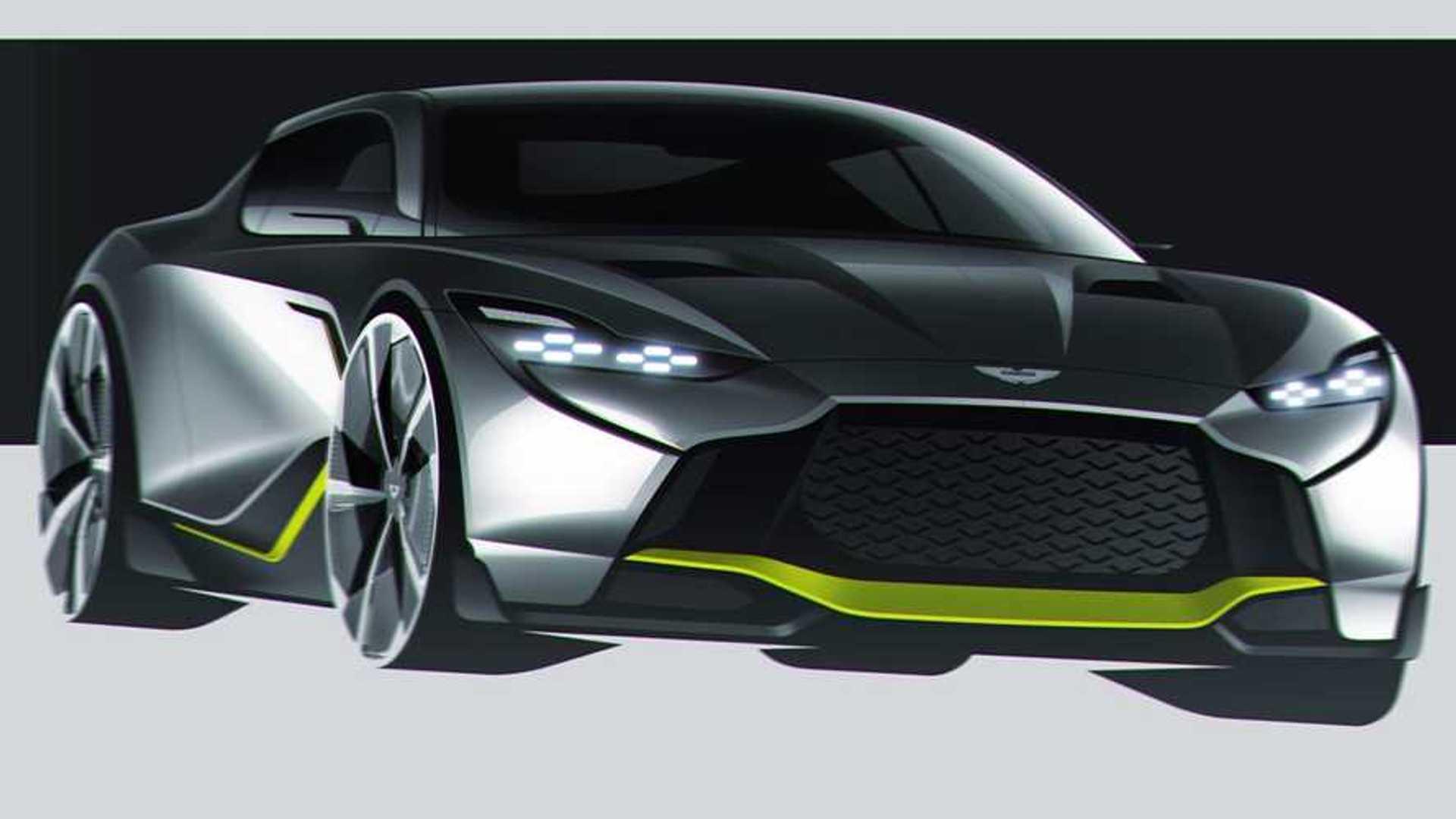 Aston Martin Db12 Amr Rendering Imagines James Bond S Future Ride