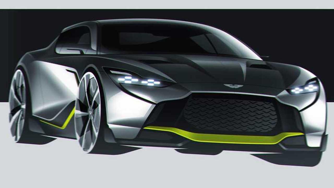 Aston Martin DB12 AMR rendering