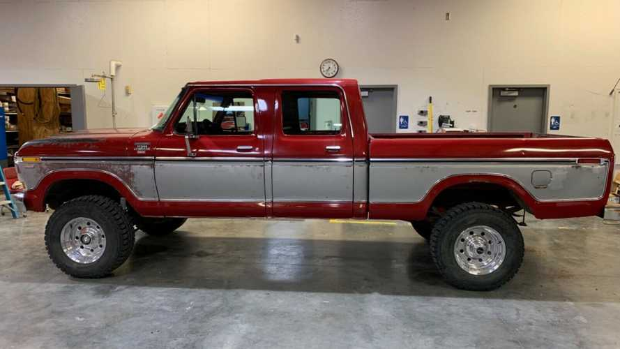 1979 Ford F-250 Crew Cab Survivor Sold For $30K on eBay