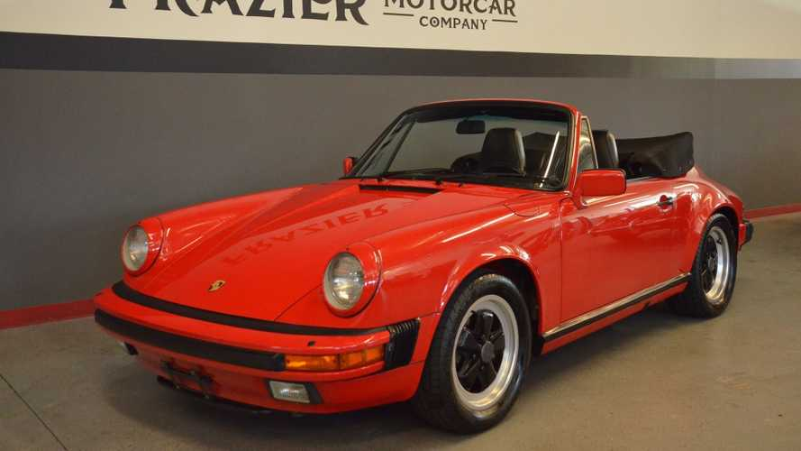 Drop The Top In An Original 1986 Porsche 911 Carrera Cabriolet