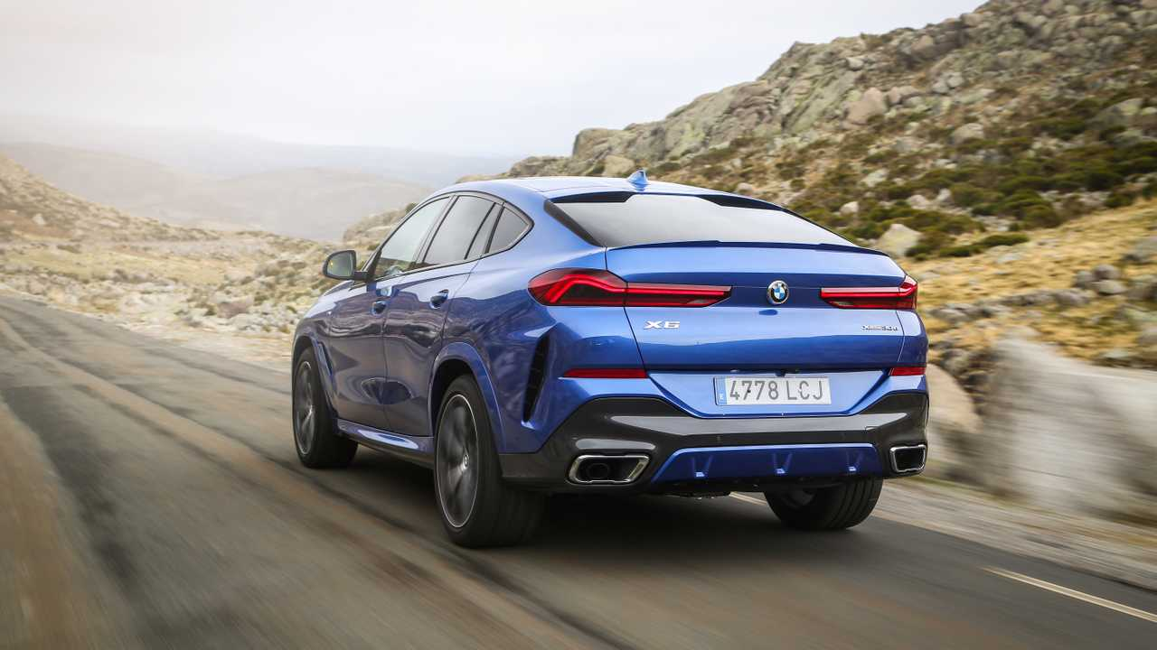 Primera prueba BMW X6 2020