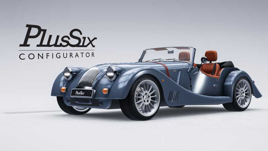 Morgan launches online Plus Six configurator