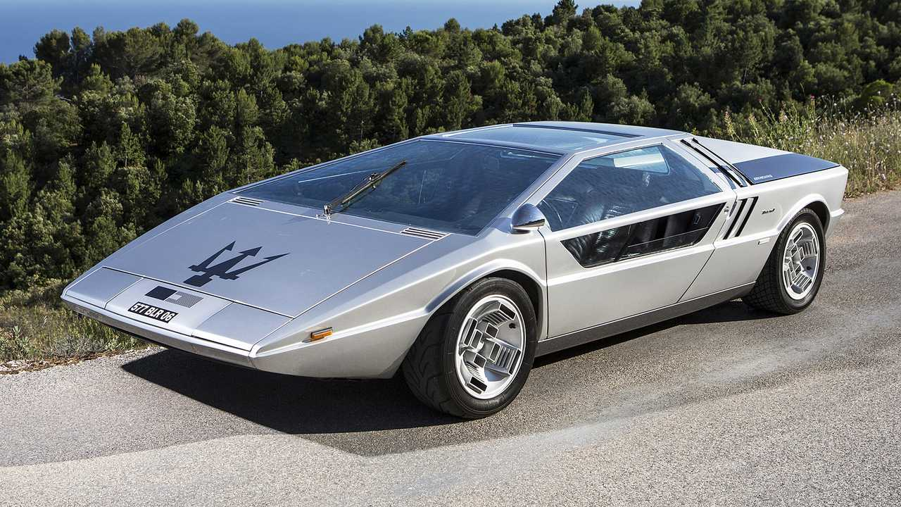 Maserati Boomerang (1972) - 3,3 millones de euros