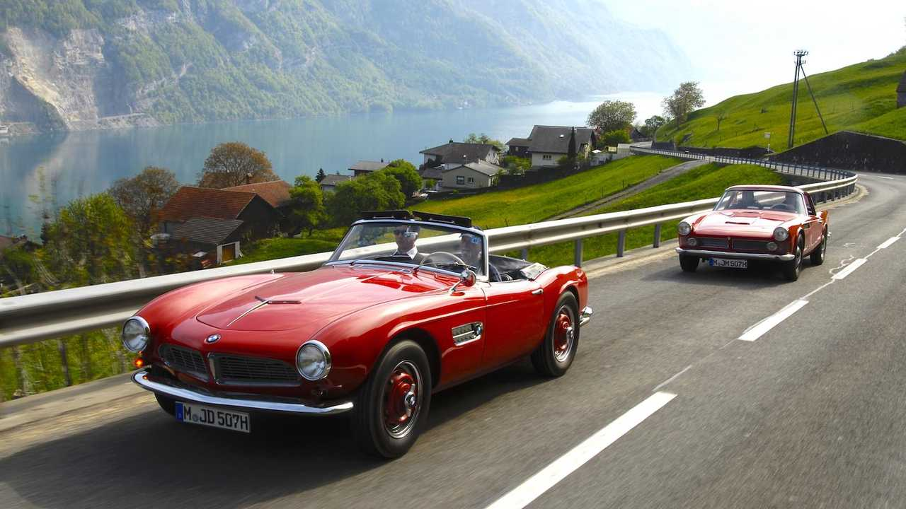 How it feels to drive the iconic BMW 507