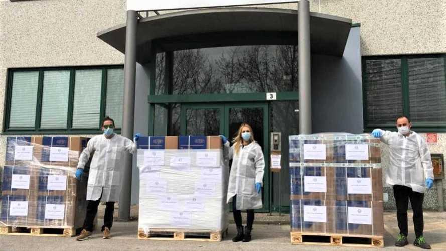 Benelli in aiuto della Croce Rossa contro il Coronavirus