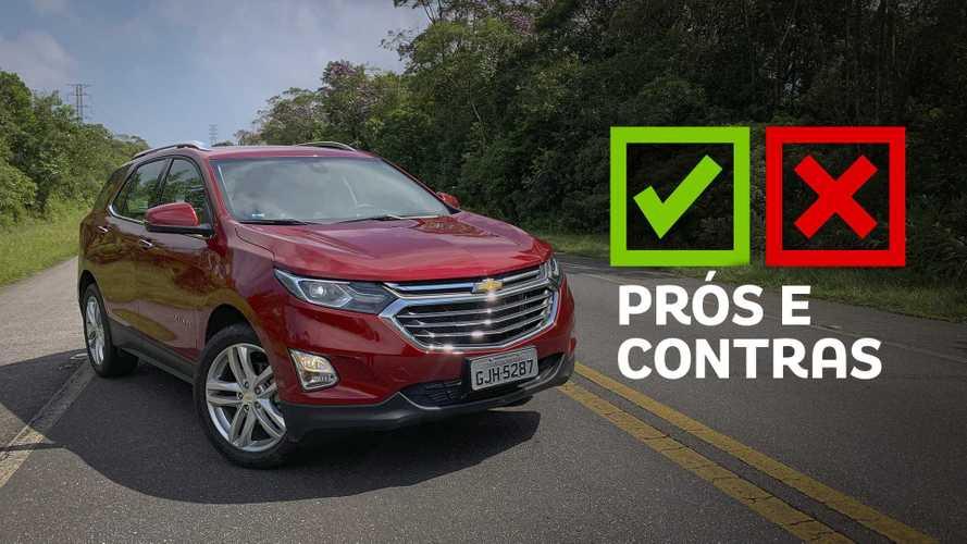 Chevrolet Equinox Premier 1.5 Turbo 2020: Prós e Contras