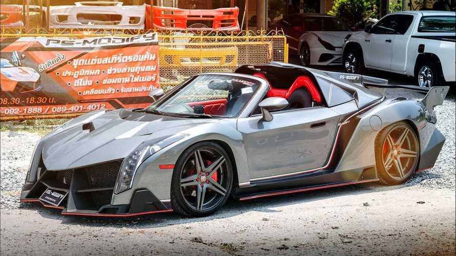 Lamborghini'ye benzetilmiş Toyota MR2'yi görün
