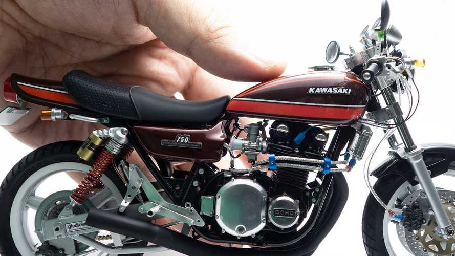 This Kawasaki 750RS Z2 Build Is Miniature Perfection Achieved