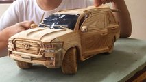 wood toyota landcruiser functional
