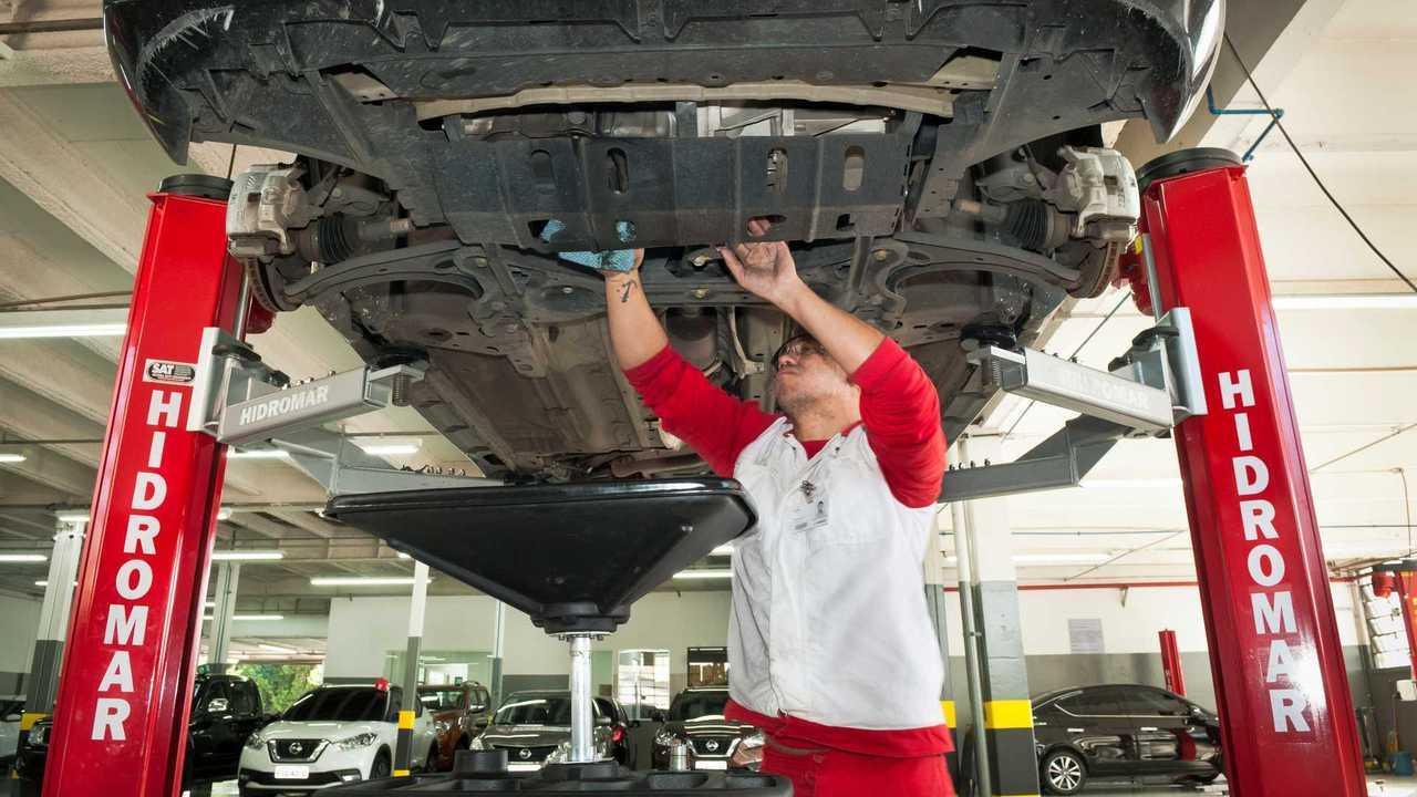 Nissan - Manutenção