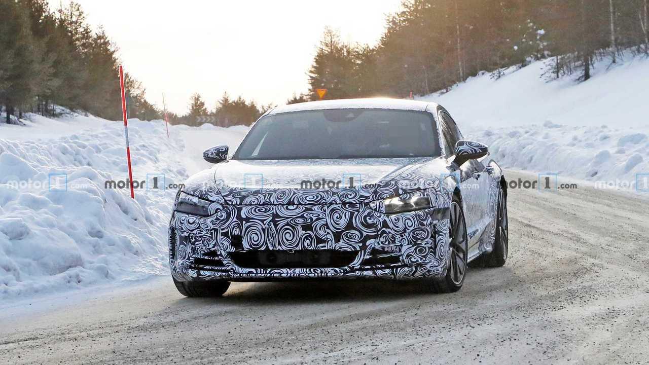 Photo espion Audi e-tron GT