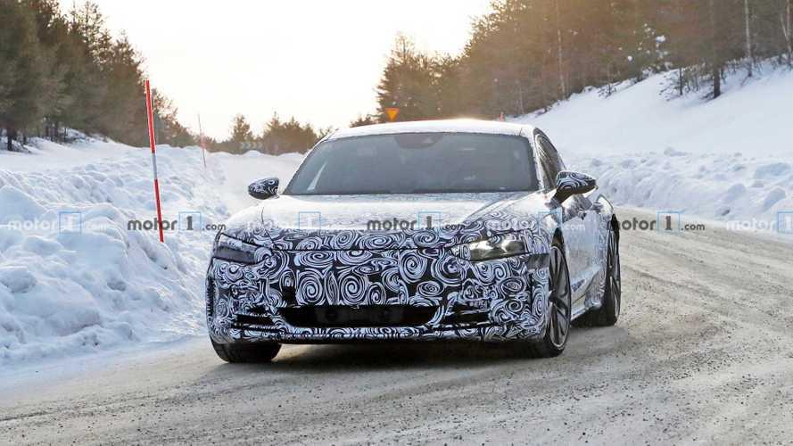 L'Audi e-tron GT se prépare par temps froid