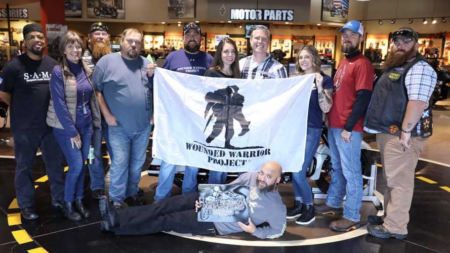 Harley And Wounded Warrior Project Join Forces To Support Veterans